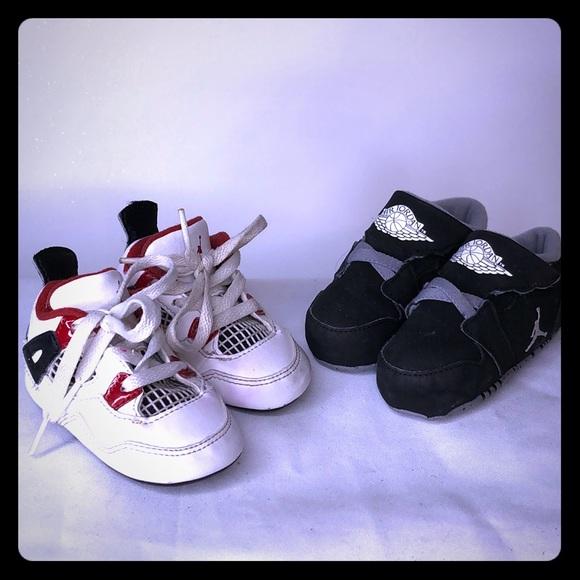 Nike Air Jordan baby shoes size 3C & 4C